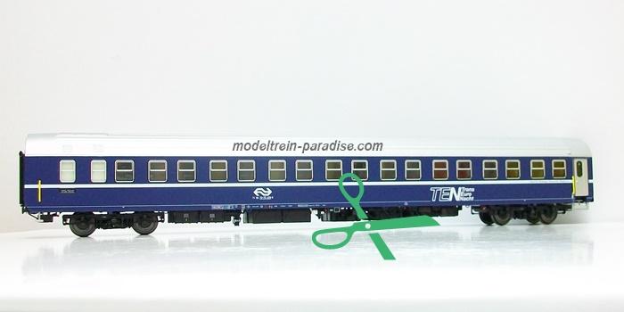 44190  NS  Slaaprijtuig ,,TEN'' blauw/ zilver dak  tp IV